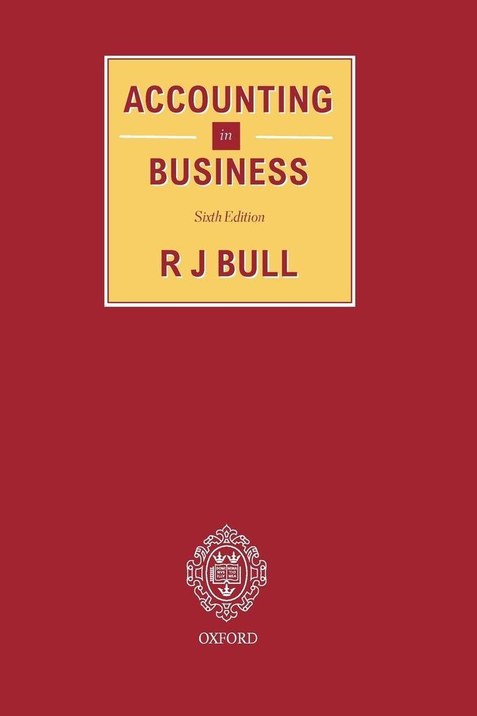 Accounting in Business als Taschenbuch