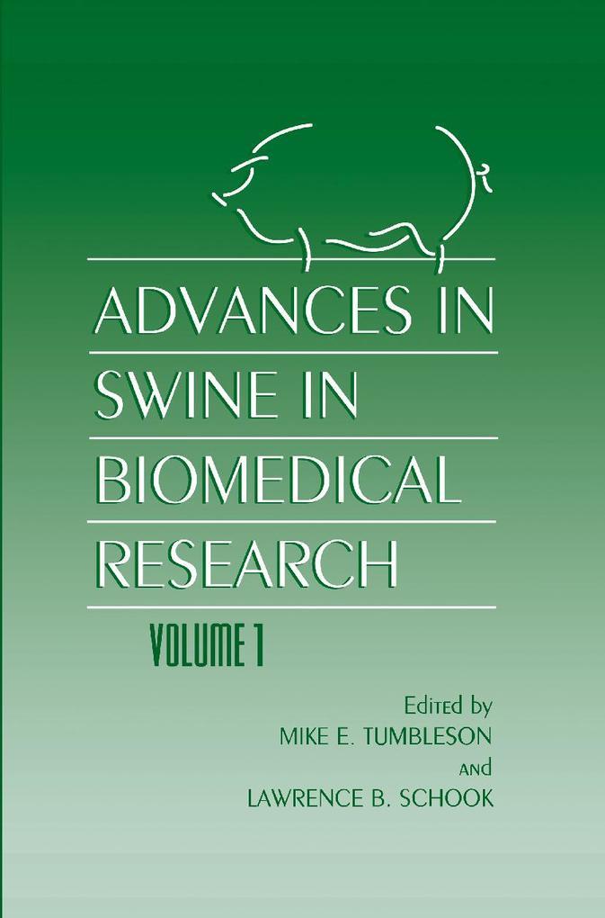 Advances in Swine in Biomedical Research als Buch