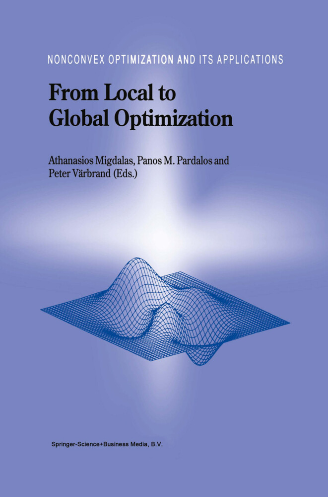From Local to Global Optimization als Buch