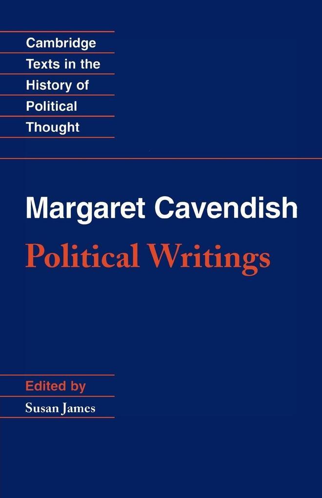 Margaret Cavendish: Political Writings als Taschenbuch