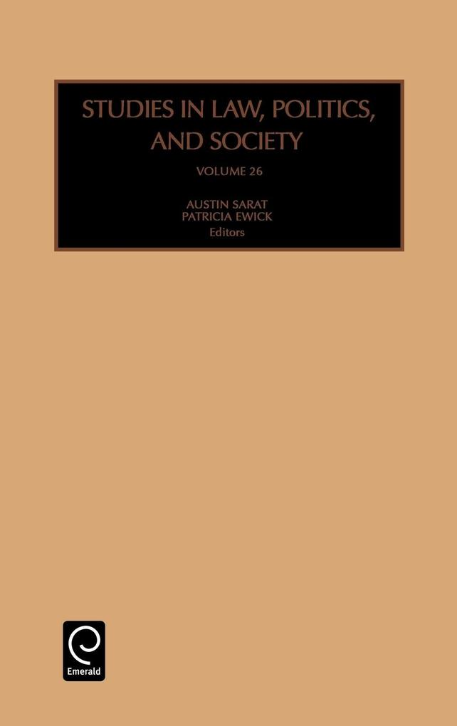 Studies in Law, Politics and Society als Buch