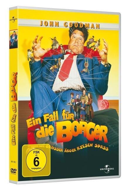 Ein Fall für die Borger als DVD