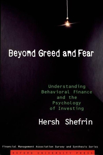 Beyond Greed and Fear als Buch