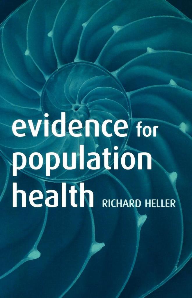 Evidence for Population Health als Taschenbuch