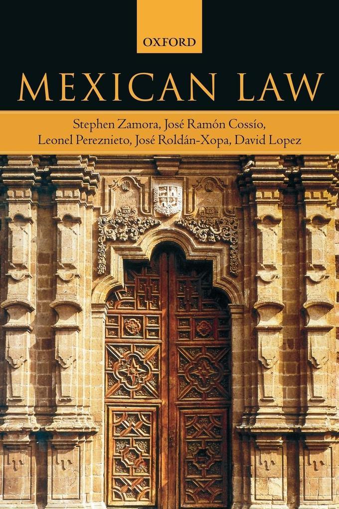 Mexican Law als Taschenbuch