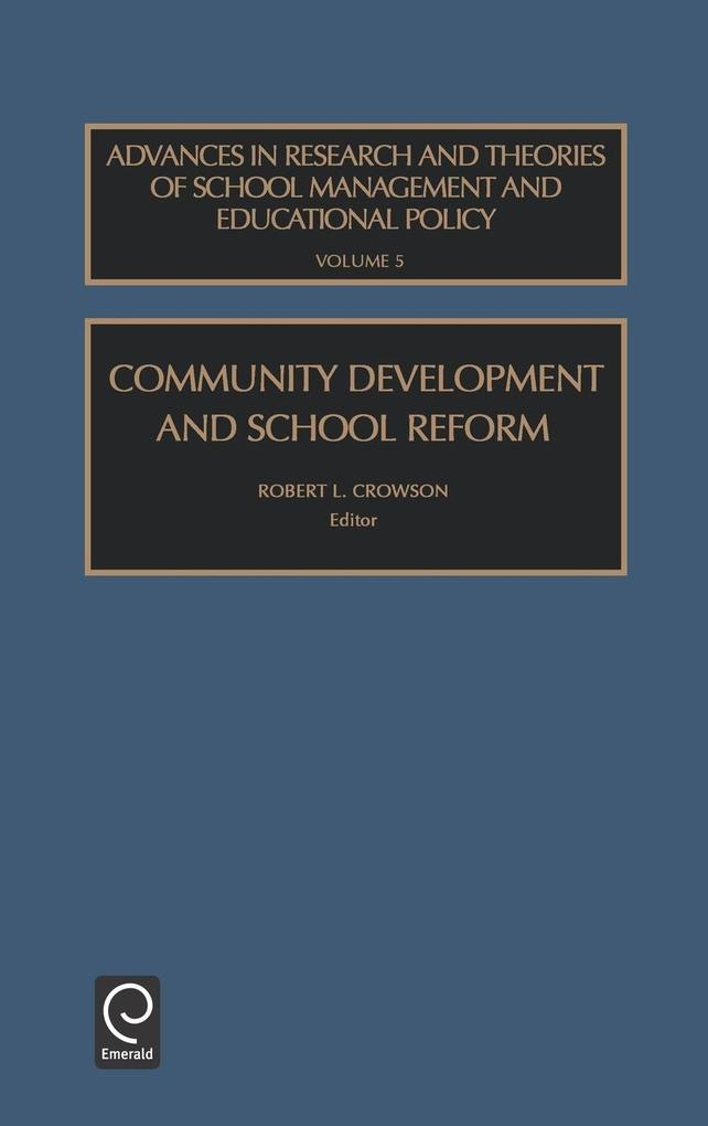 Community Development and School Reform als Buc...