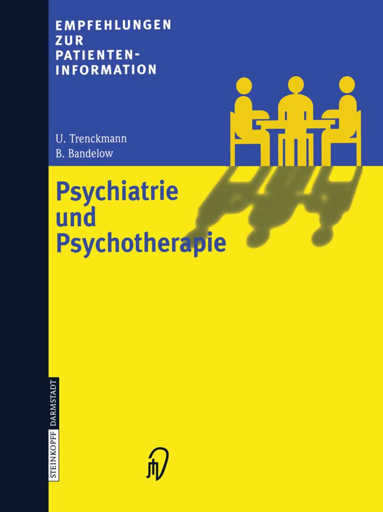 Empfehlungen zur Patienteninformation Psychiatrie und Psychotherapie als Buch