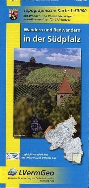 Wandern und Radwandern in der Südpfalz 1 : 50 000 als Buch