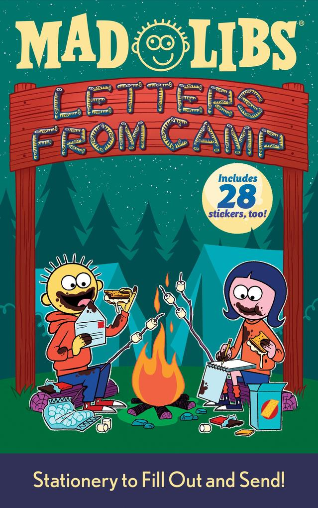 Letters from Camp Mad Libs [With Stickers] als Taschenbuch
