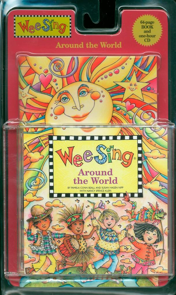 Wee Sing - Around the World, w. Audio-CD als Taschenbuch