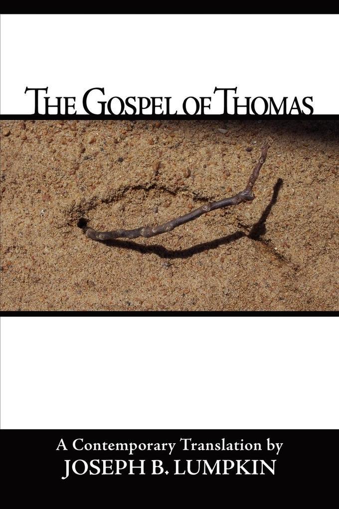 The Gospel of Thomas als Taschenbuch
