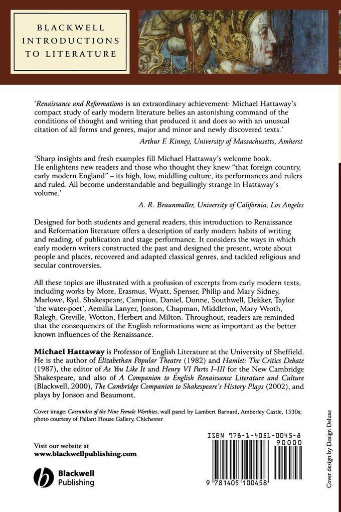Renaissance and Reformations als Taschenbuch