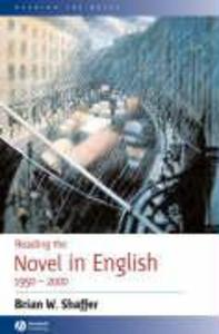 Reading the Novel in English 1950 - 2000 als Taschenbuch