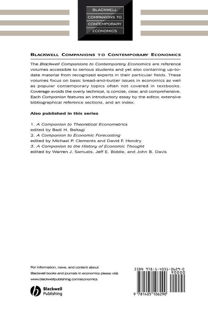 Companion to Urban Economics als Buch