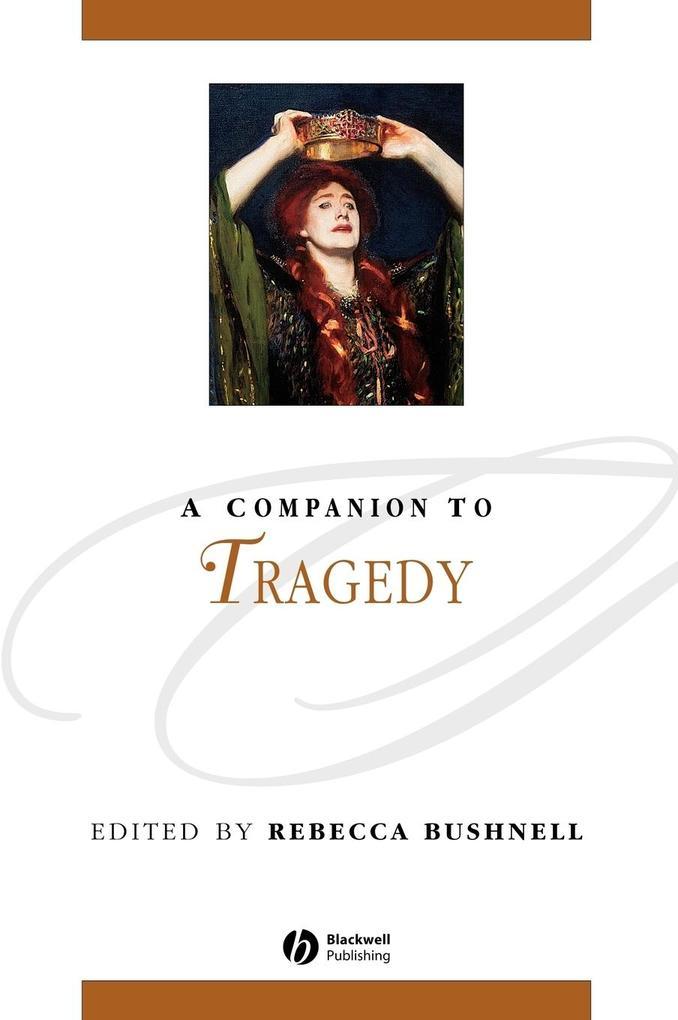 Companion to Tragedy als Buch