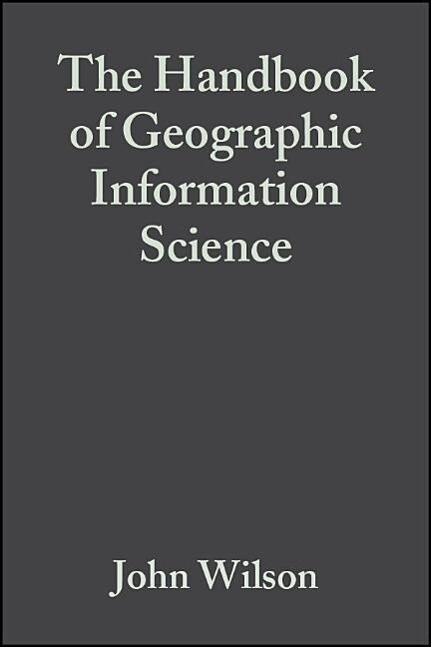 The Handbook of Geographic Information Science als Taschenbuch