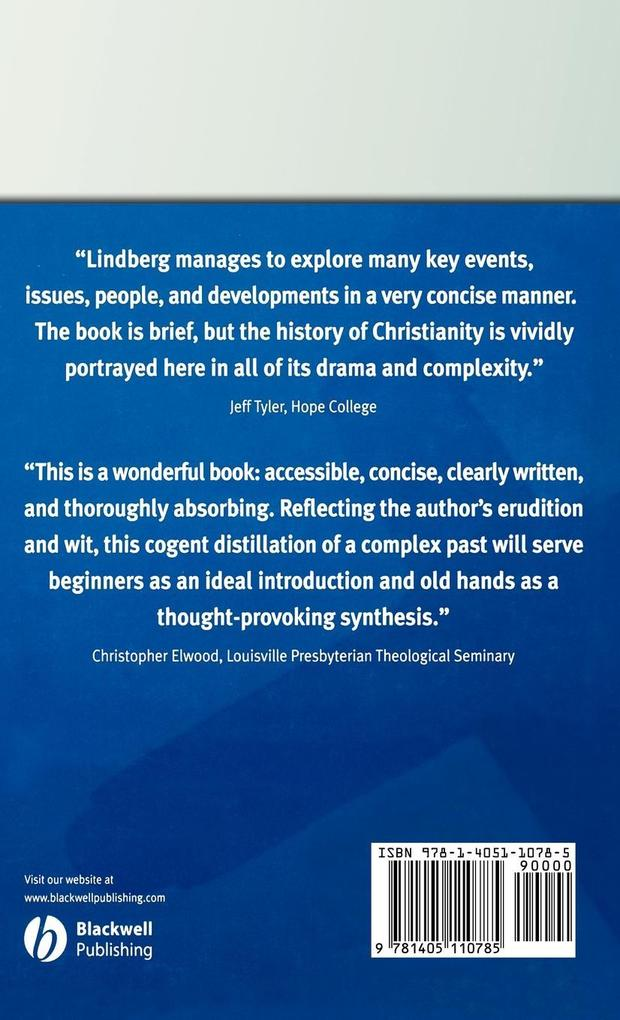 BRIEF HISTORY OF CHRISTIANITY als Buch