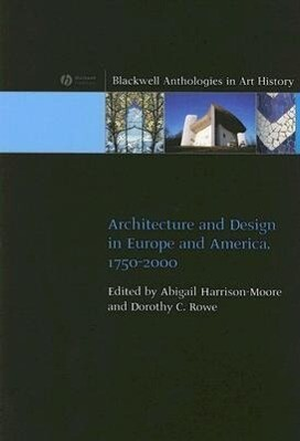 Architecture and Design in Europe and America: 1750 - 2000 als Taschenbuch
