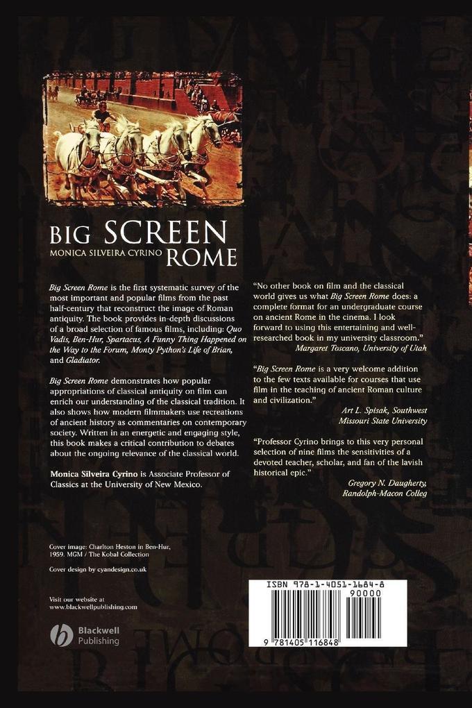 Big Screen Rome 3e als Taschenbuch