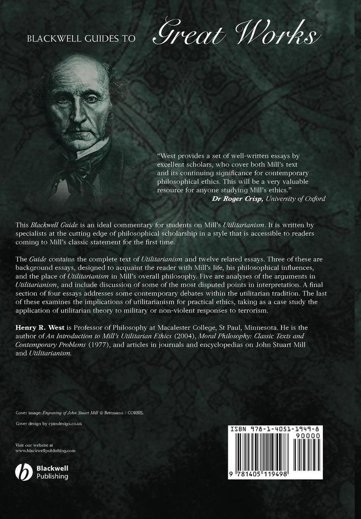 Bwell Guide Mill s Utilitarianism als Taschenbuch