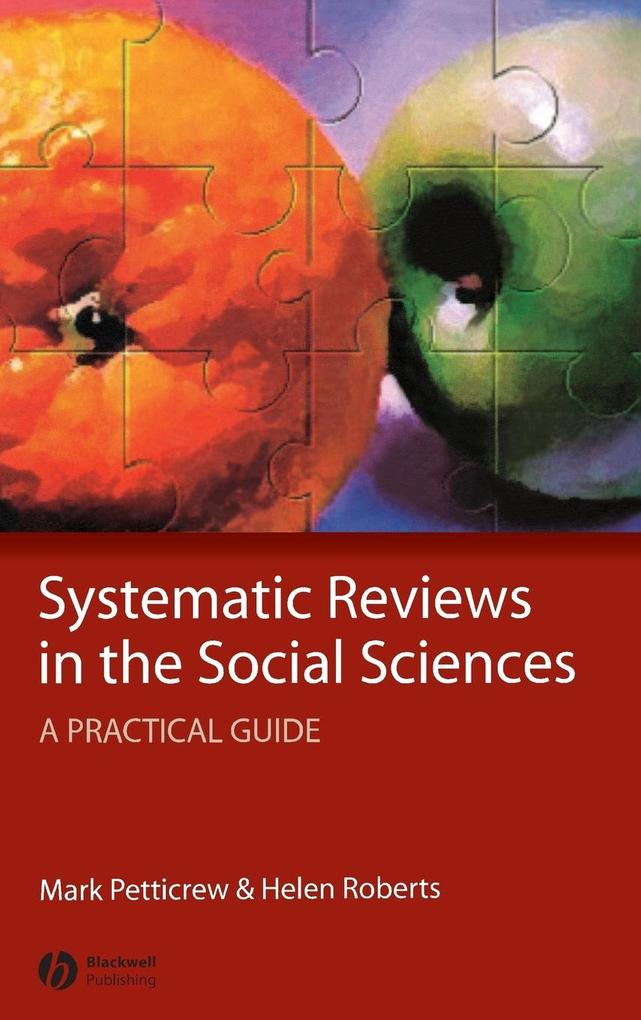 Systematic Reviews in the Social Sciences als Buch