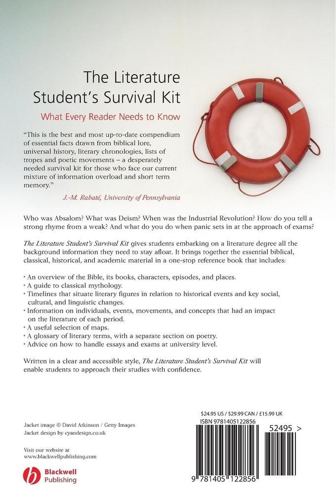 Literature Students Survival Kit als Taschenbuch