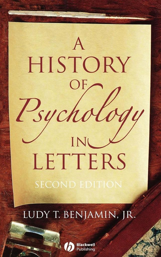 A History of Psychology in Letters als Buch