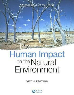 The Human Impact on the Natural Environment als Taschenbuch