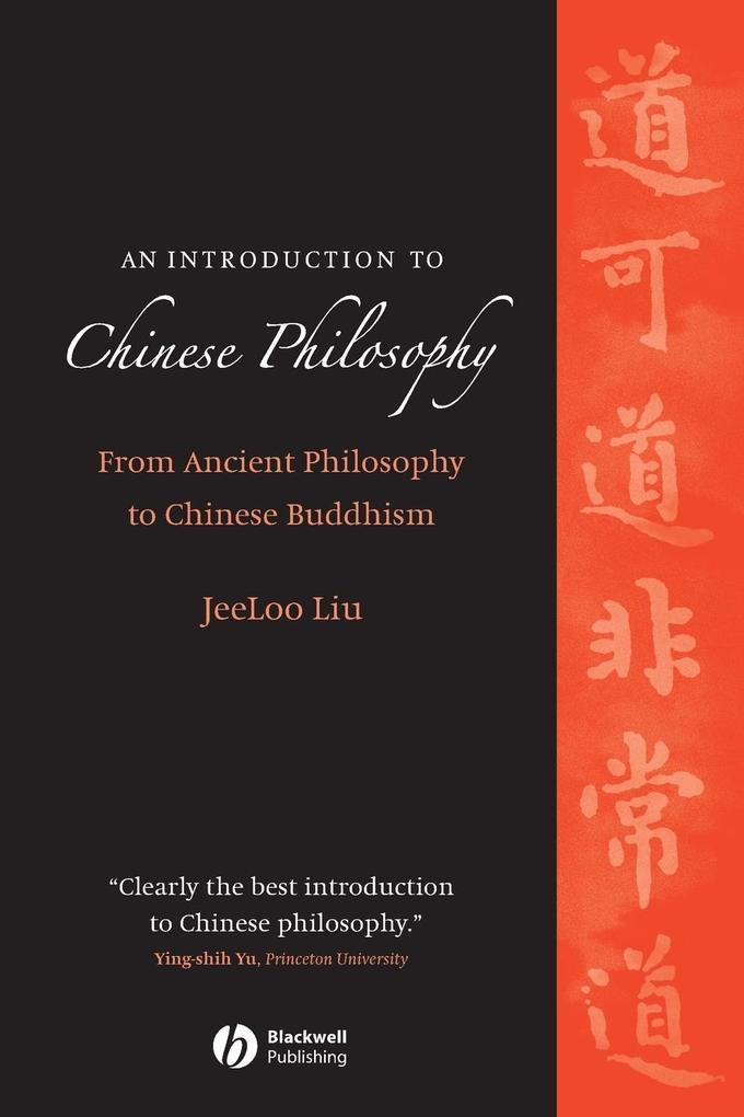 Chinese Philosophy als Taschenbuch