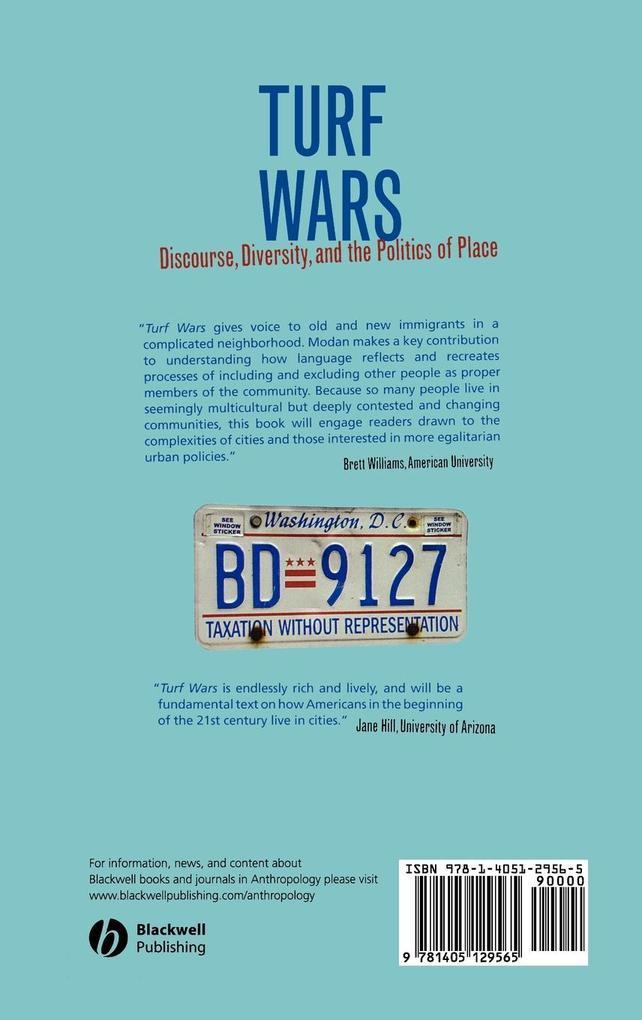 Turf Wars als Buch