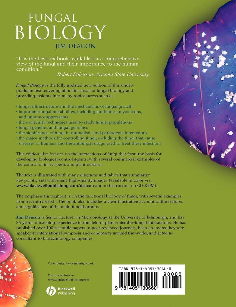 Fungal Biology 4e als Taschenbuch