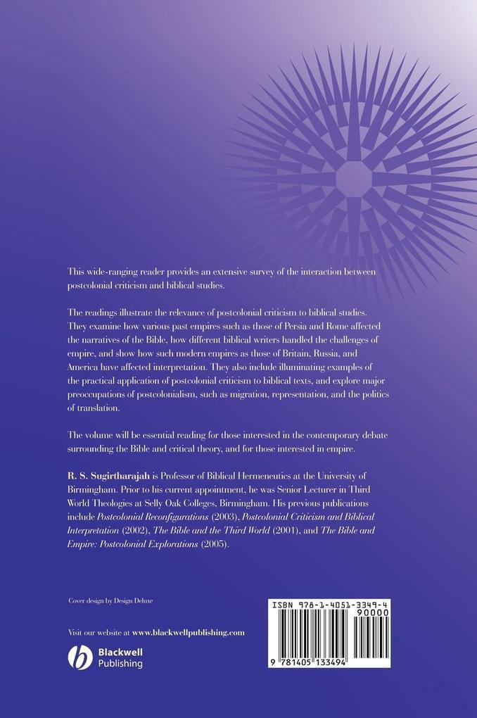 Postcolonial Biblical Read C als Buch