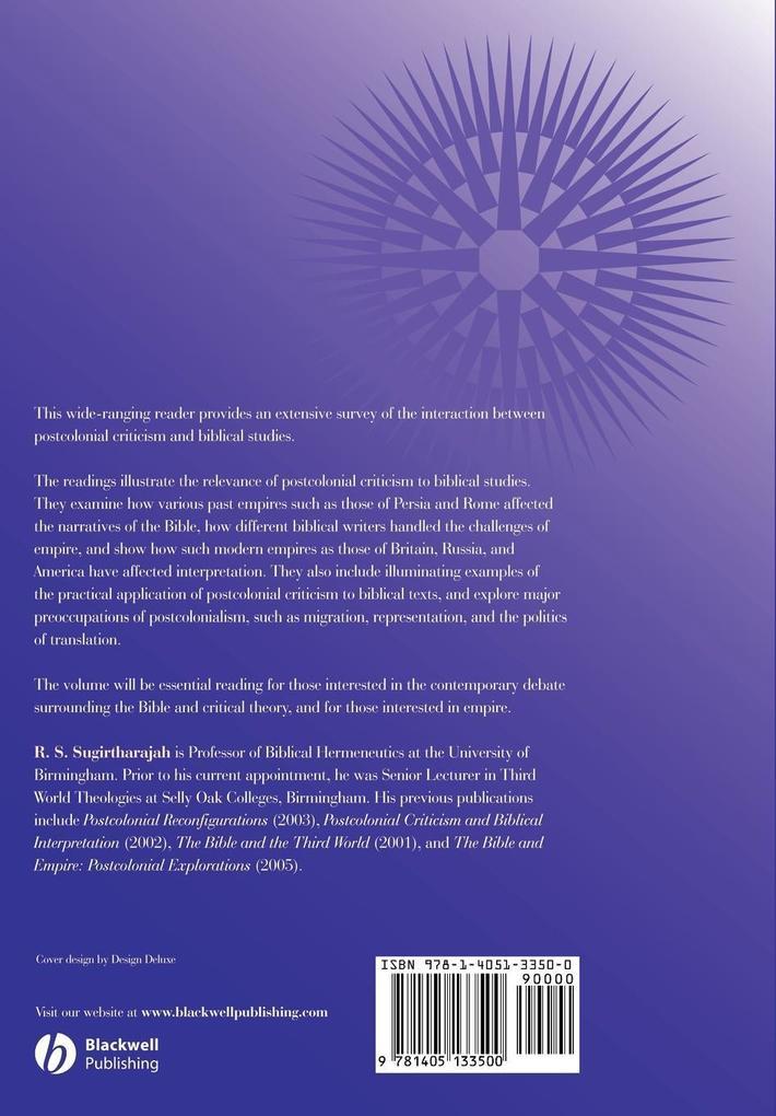 Postcolonial Biblical Read als Taschenbuch