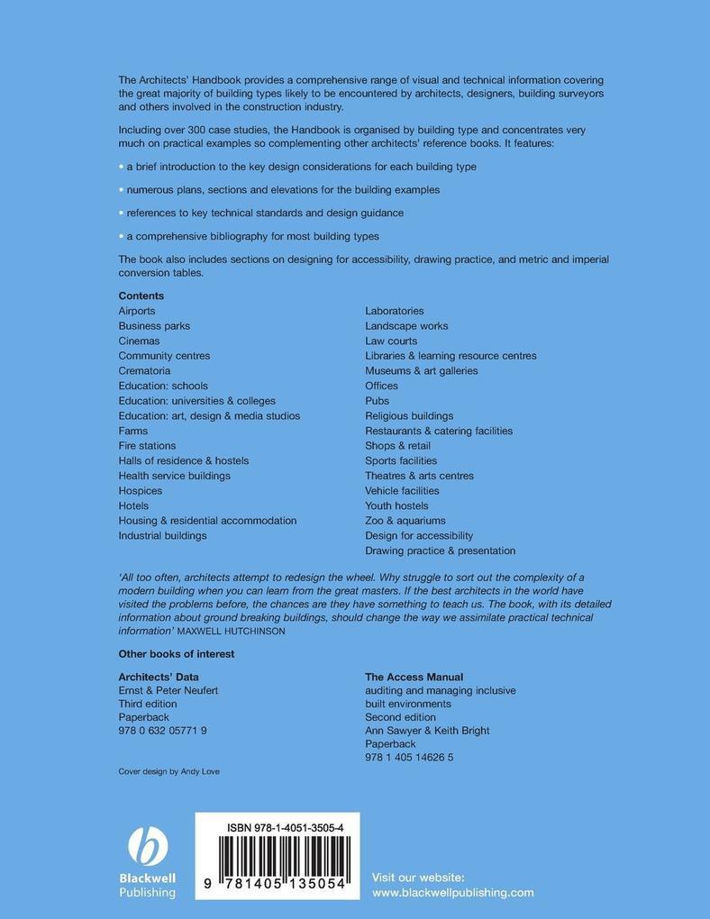 The Architects Handbook als Taschenbuch