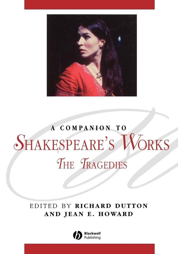 Companion to Shakespeare s Work als Taschenbuch