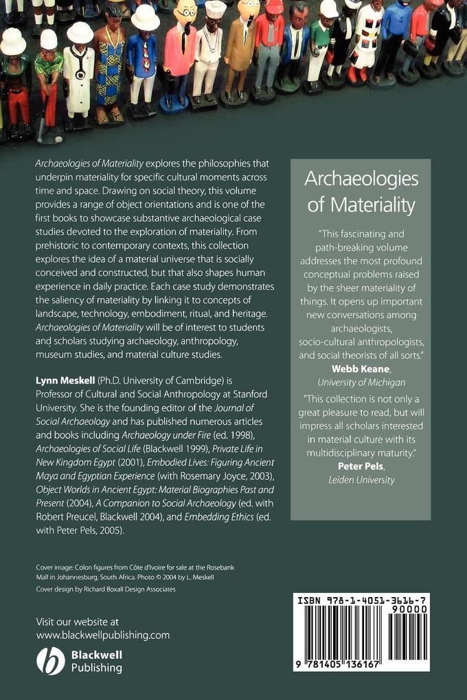 Archaeologies of Materiality als Taschenbuch