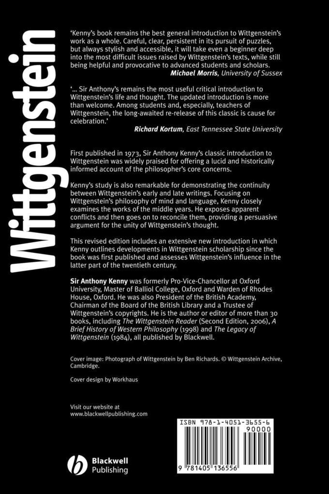 Wittgenstein als Taschenbuch
