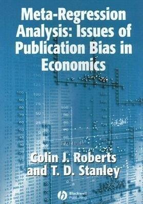 Meta-Regression Analysis: Issues of Publication Bias in Economics als Taschenbuch