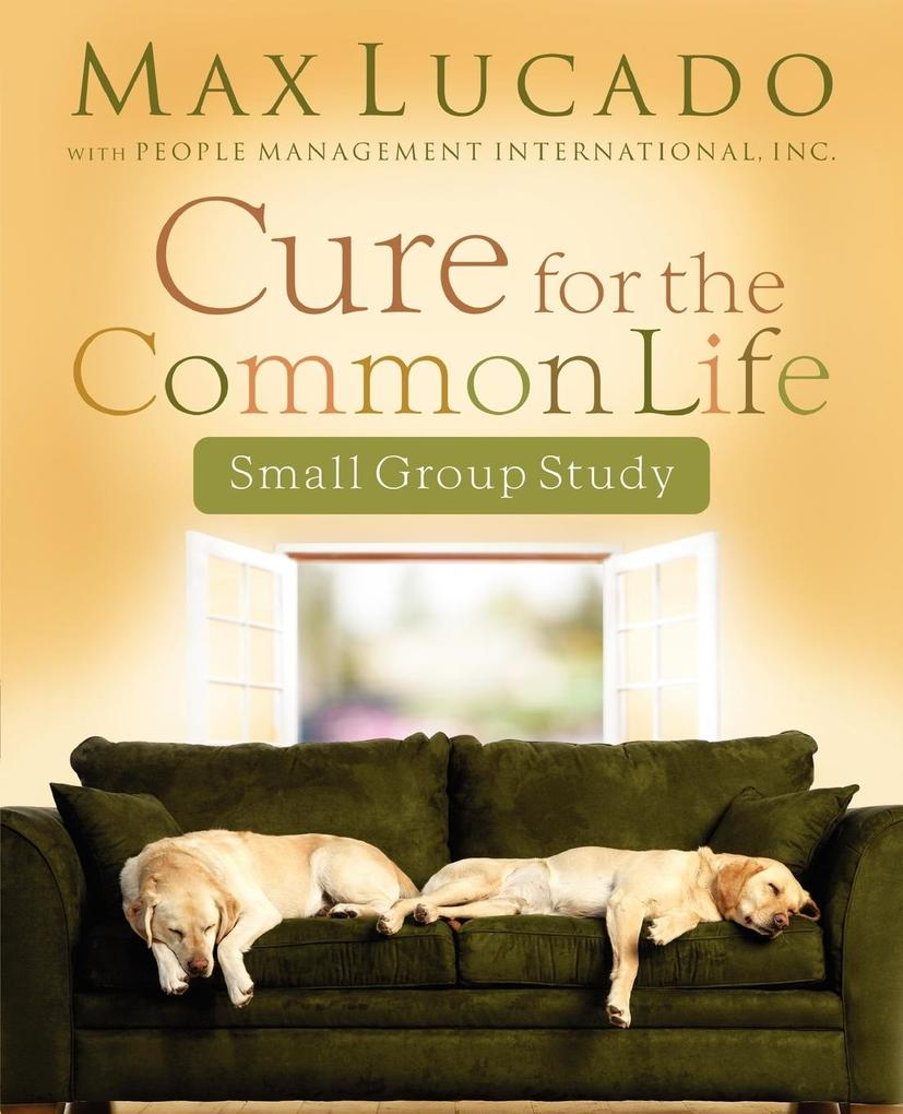 Cure for the Common Life Workbook als Taschenbuch