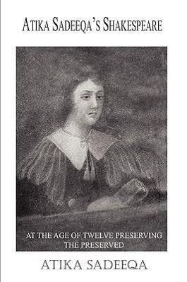 Atika Sadeeqa's Shakespeare als Buch