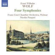 Vier Symphonien als CD