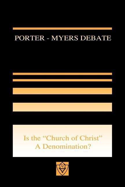Porter-Myers Debate als Taschenbuch