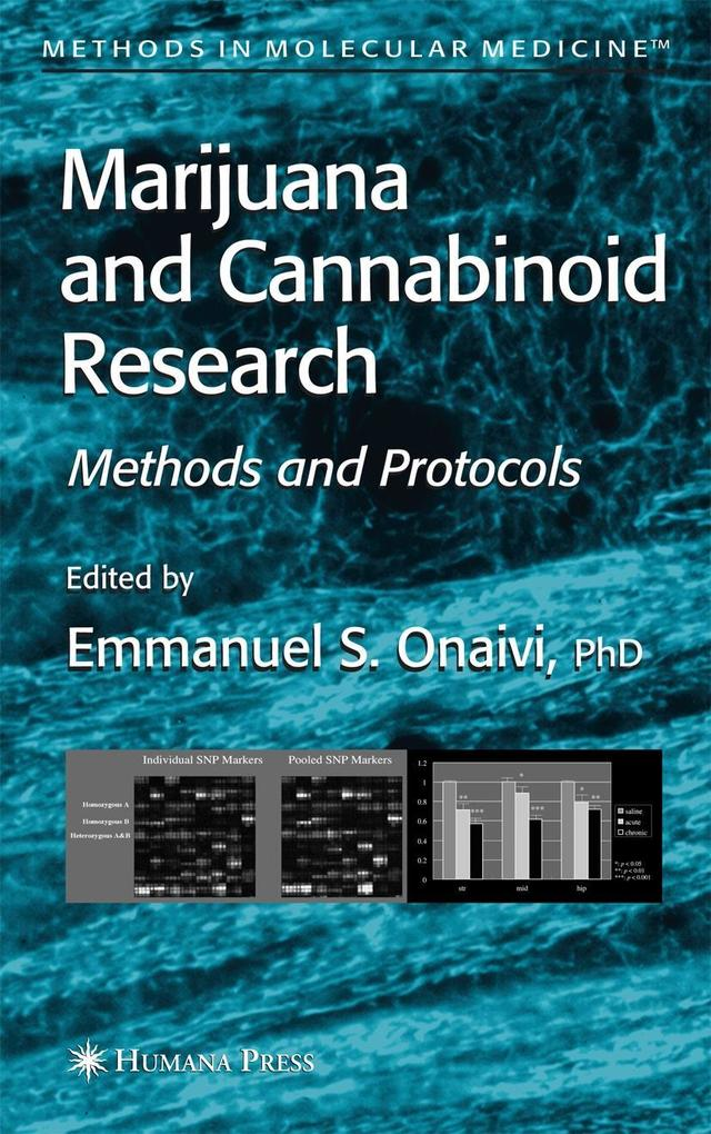 Marijuana and Cannabinoid Research: Methods and Protocols als Buch