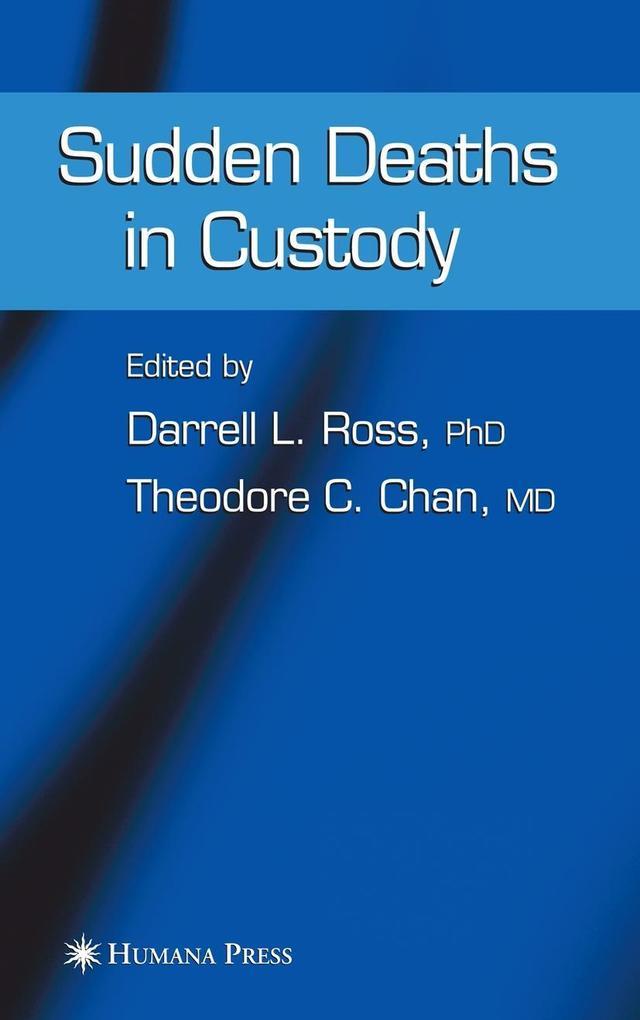 Sudden Deaths in Custody als Buch