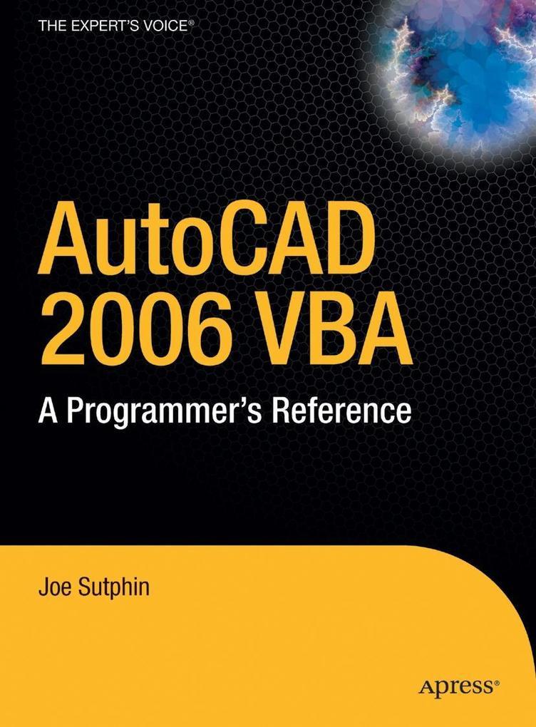 AutoCAD 2006 VBA als Buch