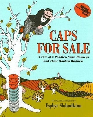 Caps for Sale: A Tale of a Peddler, Some Monkeys and Their Monkey Business [With Hardcover Book] als Hörbuch