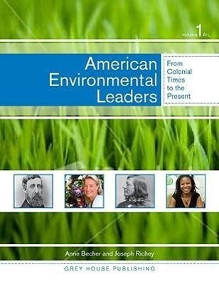 American Environmental Leaders: 0 als Buch