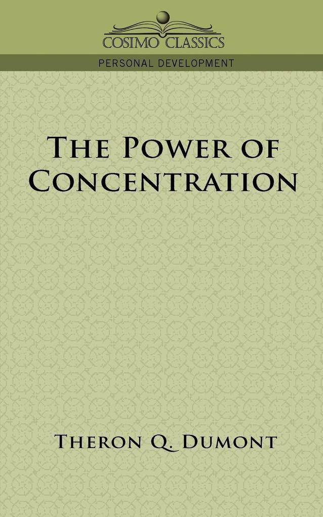 The Power of Concentration als Taschenbuch