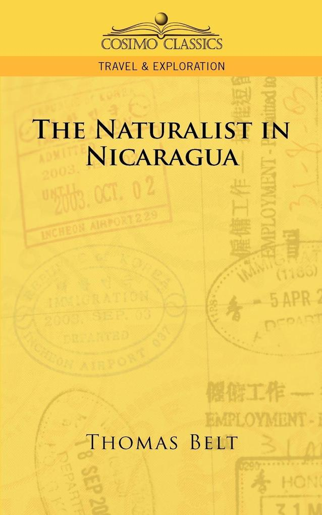 The Naturalist in Nicaragua als Buch