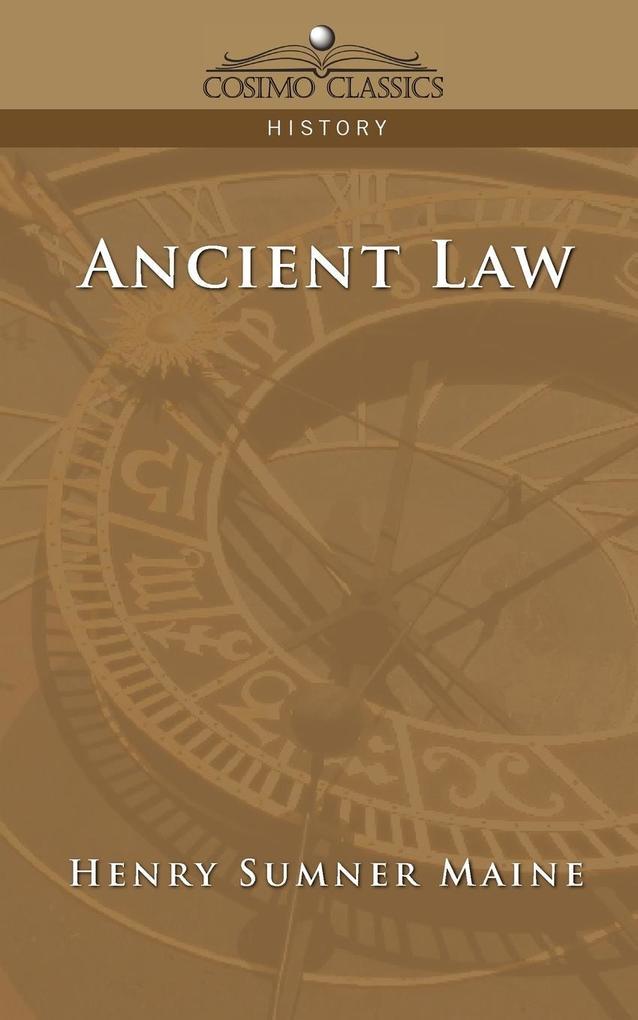 Ancient Law als Taschenbuch